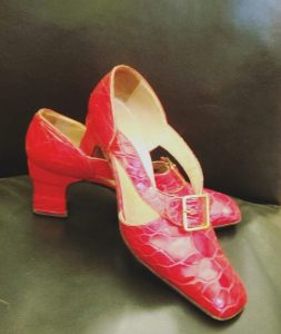 1960s Red Turtle Barrillà Shoes