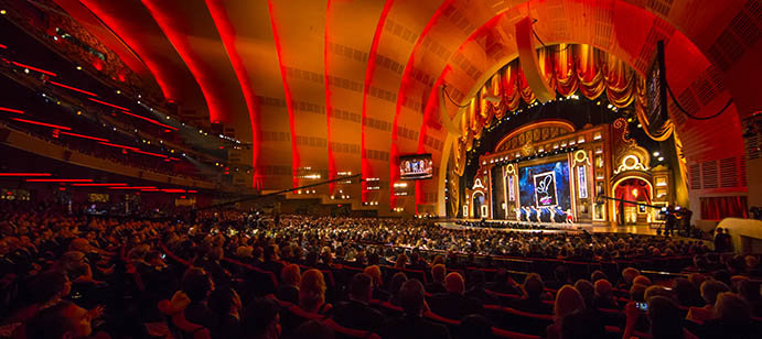June 7, 2015: The 69th Annual Tony Awards are hosted by Kristin Chenoweth and Alan Cumming at Radio City Music Hall in New York City.