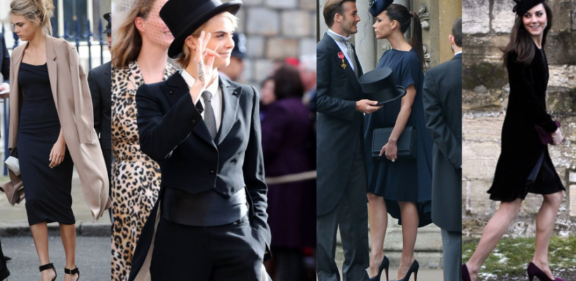 Royal black per Cara Delevigne, Kate Middleton e